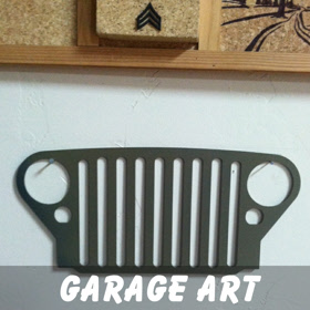 Off Road Garage Art